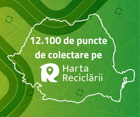 Numărul De Puncte De Colectare Separată Marcate Pe Harta Reciclării A Crescut Cu 70% în 2020