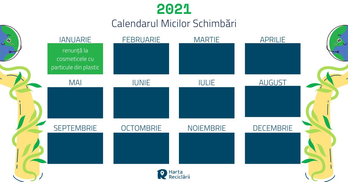 calendarul micilor schimbari